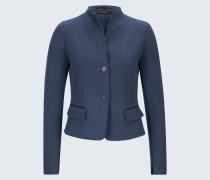 Kurz-Blazer in Blau