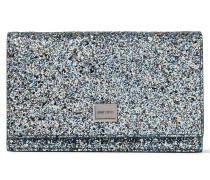 Lizzie Mini-Tasche aus Gewebe in elektrischem Blau Mix