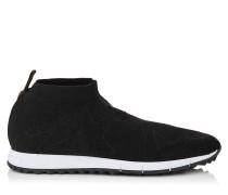 Norway/m Sneaker aus schwarzem Gewebe und Lurex