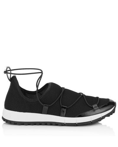 Andrea Sneaker mit schwarzem Netzgewebe
