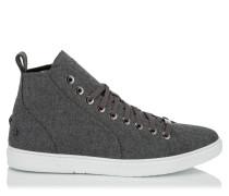 Colt Sneaker aus grauem Flanell