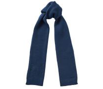 Holly Schal aus dunkelblauer Wolle mit kleinen Sterndetails