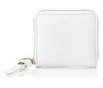 Penny Kleines Portemonnaie aus weißem Leder