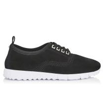Jenson Sneaker aus schwarzem Netzgewebe und Wildleder