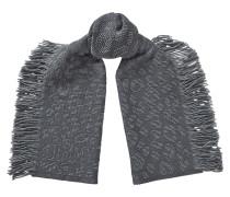 Jamie H68083250 Schal aus grauer Wolle