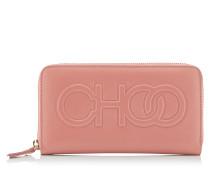 Bettina Große Brieftasche aus Nappaleder mit Logo