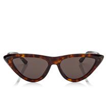 Sparks Sonnenbrille mit Gestell in Havanabraun und braunen Gläsern