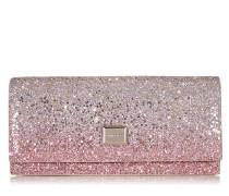 Lilia Mini-Tasche aus Glitzergewebe mit Dégradé in Platin
