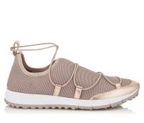 Andrea Sneaker aus rosanem Netzgewebe