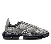 Diamond/m Sneaker aus Wildleder in Rauchgrau und metallischem Wildleder