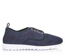 Jenson Sneaker aus dunkelblauem Netzgewebe und Wildleder