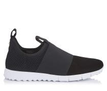 Oakland/m Sneaker aus Wildleder und Netzgewebe in Schwarz