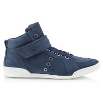 Lewis Sneaker aus Wildleder in Rauchblau