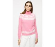 Pullover aus Angorawolle im Fair-Isle-Design
