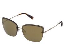 Oversize-Sonnenbrille im Butterfly-Stil