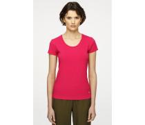 T-Shirt aus Baumwoll-Stretch