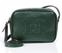Online-Special - Schultertasche aus Leder mit Logo-Prägung
