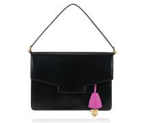 Leder-Handtasche im Envelope-Design, klein