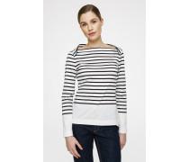 Langärmliges T-Shirt im Streifen-Look