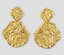 Goldfarbene Ohrringe