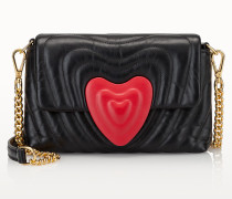 Kleine Heart Bag aus Leder