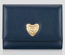 Leder-Geldbörse Heart
