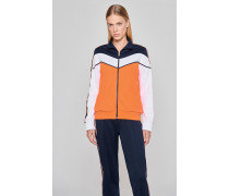 Sportliche Jacke mit Zipper