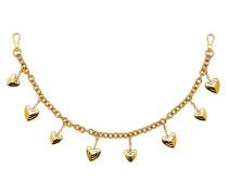 Runway Collection - Goldfarbene Kette mit Herzen