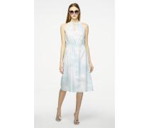 Midi Kleid aus Baumwolle zum Binden