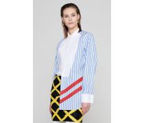 Runway Collection -Baumwoll Bluse mit Streifen