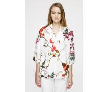 Tunika-Top im floralen Design