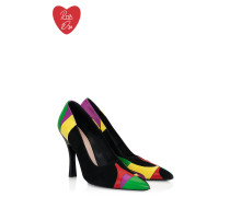 Runway Collection - Logo-Pumps aus Leder