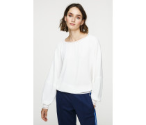 Crêpe-Top im Slouchy-Look