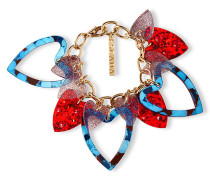 Glitzerndes Heart Armband