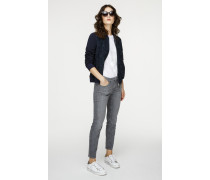 Skinny Jeans mit dekorativen Akzenten