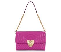 Große Heart Bag aus Leder