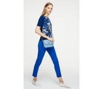 Gerade geschnittene Jeans in Knöchellänge