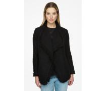 Jacke aus Wolle/Mohair/Tweed