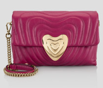Mittelgroße Heart Bag aus Leder