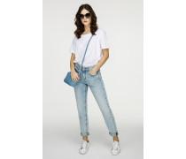 Knöchellange Boyfriend-Jeans