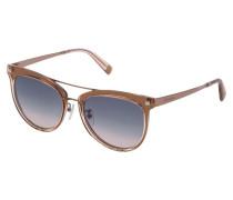 Sonnenbrille im Aviator-Design