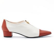 Runway Collection - Leder-Loafer mit Zipper