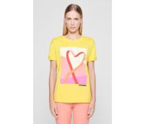 T-Shirt mit Herz-Logo