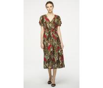Print-Kleid aus Seidenmix