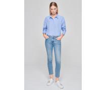 Jeans mit Nieten-Dekor