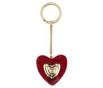 Schlüsselanhänger Heart im Glitter-Look