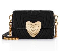 Heart Bag aus Samt, klein