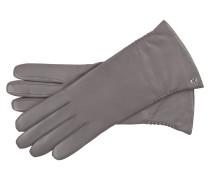 Handschuh 'Regina' Nappa/Kaschmir Taupe