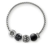 "Armband ""Zick Zack"", Sterlingsilber, Karma Beads"