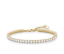 Armband, Sterlingsilber Gelbgold vergoldet, Glam & Soul